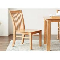 China Family Practical Solid Wood Dining Chairs Standard Size Strong Structure Eco -  Friendly on sale