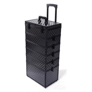 China OEM Multifunctional Makeup Travel Trolley Case With Detachable Pull Rod on sale