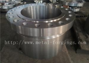 China Pressure Vessel Stainless Steel Flange PED Certificates F304 F304L ASTM / ASME-B16.5 on sale