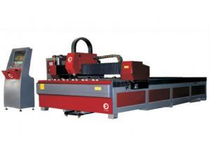 China exactitud de la cortadora del laser de la chapa de la fibra óptica 1000W alta con el motor servo importado on sale