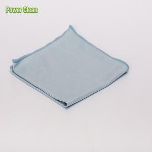 China Silk Lint Free Microfiber Glass Cloth For Cleaning Glass,Window, Car Window on sale