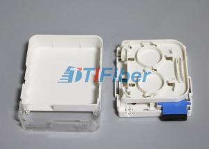 China SC Duplex Wall Mounted Fiber Optic Terminal Box for SM Fiber on sale
