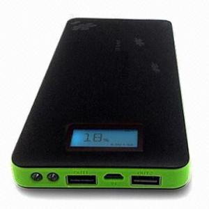 China power bank 16000 mAh with LED light, for iPhone, HTC, Motorola, Samsung, Nokia, PSP etc. on sale