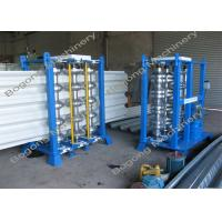 China PLC Control Auxiliary Machinery Floor Deck Panel Tooth Curved Machine on sale