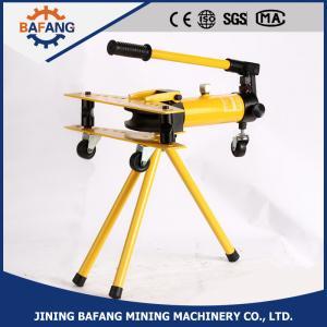 China la fábrica directa suministró el doblador hidráulico manual de la tubería de acero de los stainlss de la serie del SWG supplier