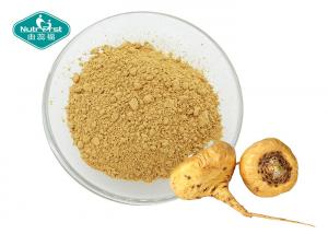 China Dark Yellow Maca Root Supplement High Purity Water Soluble Extract From Medicinal Herb on sale