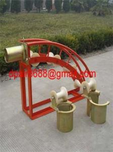 China Cable Guide And Roller Stand&cable laying on sale