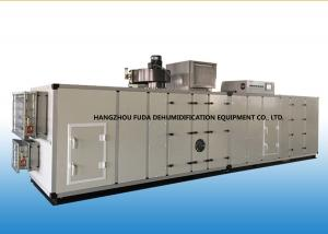 China PLC Automatic Industrial Air Dehumidifier With Cooling Coil 6000m3/h on sale