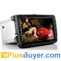 China Road Elite - 8 Inch 2 DIN Android 4.0 Car DVD Player For Volkswagen (3G, WiFi, GPS, 800x480) on sale
