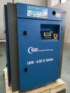 China Airend Design 2 Stage Air Compressor , Waterproof Quiet Air Compressor supplier