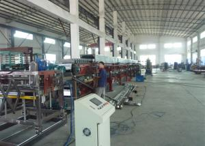 China Auto Continuous Polyurethane Foam Sheets Production Line 12m To 35m on sale