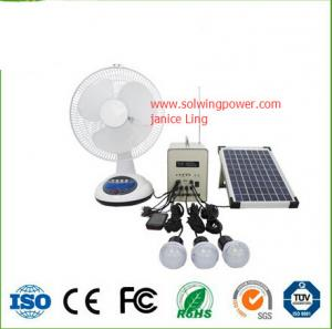China 30w 18V off-grid with FM radio and MP3 function cheap wholesale prices for small solar on sale