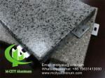 Stone Color solid aluminum panel cladding panel for building wall