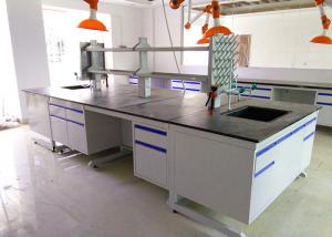 China Epoxy Resin Top Chemistry Lab Bench Furniture Anti High Temperature on sale
