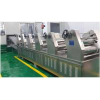 Electric Automatic Fresh Noodle Production Line / Machinery For Food Processing Industry