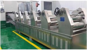 China Electric Automatic Fresh Noodle Production Line / Machinery For Food Processing Industry on sale