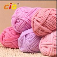 Colorful Dyed 100% Cotton Fabric Yarn Garments Accessories For DIY Hand Knitting