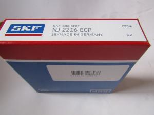 China Single row nylon cage Cylindrical Roller Bearings NJ2216ECP for gearbox on sale