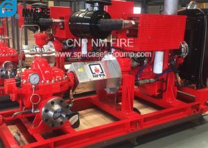 China 1500GPM @ 155PSI UL/FM Approval Diesel Engine Drive Fire Pump With Horizontal Centrifugal Split case Fire Pump on sale