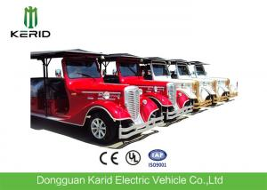 China High End Retro Electric Sightseeing Bus 11 Passenger Golf Carts With Bumper on sale