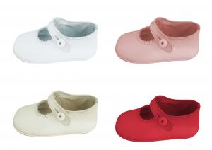 China solid very soft leather baby shoe NO.1061 on sale