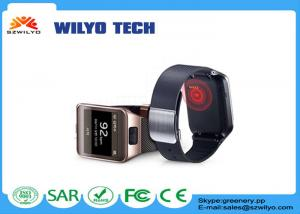 China WG2 Bluetooth Wrist Watch Phone Waterproof Heart Rate Removable Wristband on sale