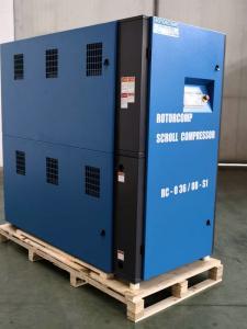 China 10HP Oilless Scroll Air Compressor / Multi Model Oil Free Gas Compressor on sale