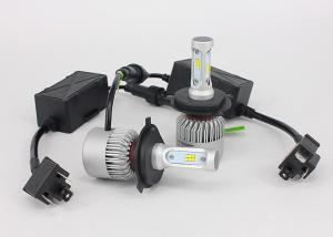 China Cooling Fans All In One Car LED Headlight Bulbs S2 36W 8000LM Car H4 LED Bulbs With Csp Chip on sale