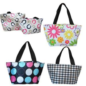 China ECO Durable Ladies Tote Bags Fashion Polyester Lunch Bag OEM ODM on sale