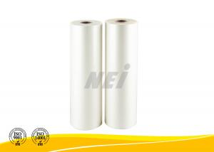 China 1 Inch BOPP Thermal Book Laminating Film , Transparent Book Covering Film on sale