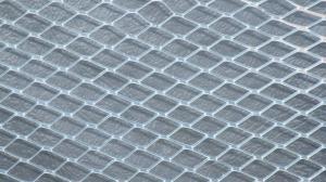 China Grillage augmenté en métal d'acier inoxydable de diamant pour la construction de bâtiments on sale