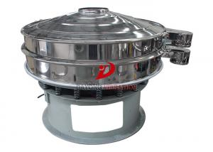China Dust Collecting Circular Vibrating Screen Sifting In Pharmaceutical Industry on sale