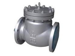China Cast Steel Swing Check Valve DN100 PN100 DIN 3202 Face To Face , WCB Body Material on sale