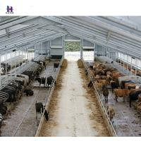 China Cow or chicken poultry farm steel construction on sale