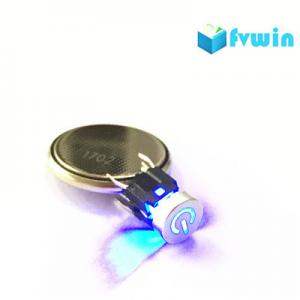 China Illuminated push button Tactile Switch Momentary tact with BLUE LED laser power cap on sale
