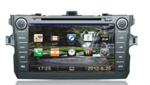 China MP3 Player Toyota DVD GPS Car Radio / CAR DVD SYSTEMS with Radio RDS Display on sale