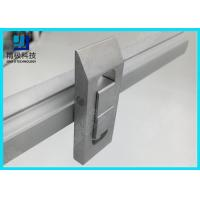 China Double Tracks Scalable conveyor Aluminum Tubing Joints Prevent Flow Back Lock Opposite Movement on sale