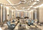 Elegant Luxury 5 Star Hotel Lobby Furniture Color Optional Customized High Grade