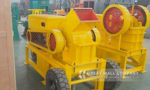 China Diesel engine crusher for sale with ISO approve exported in Nigeria on sale