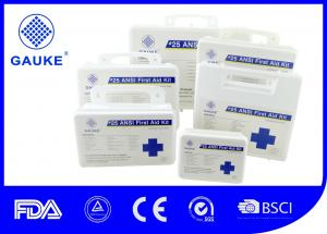 China Clinic Health And Safety First Aid Kit Ansi Standard Water Resistant on sale