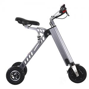 China Durable 8 Inch Portable E Bike Electric Folding Scooter 2 Year Quility Warranty on sale