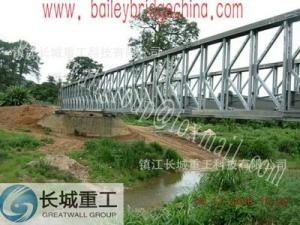 China Steel Structure Fabrication Big Span Steel Bridge Simple Structure And Strong Adaptability on sale
