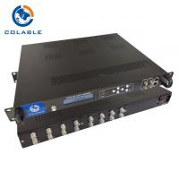 China 8 Channel DVB - S2 To RF Converter ISDB - T QAM DVB - T Modulator COL5011M on sale