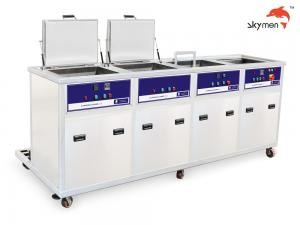 China 100L Tank Volume Ultrasonic Cleaning Machine 28/40KHz With Filter Dryer Spray on sale