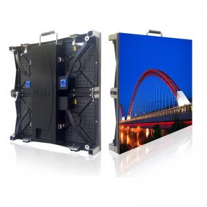 China Outdoor P4.81 Curved LED Wall , Flexible LED Video Screen For Events Rental on sale