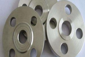 China Class 600 1 1/2'' SORF FF RTJ Slip On Welding Flange R50400/GR.2 Titanium Pipe Fitting Flange on sale