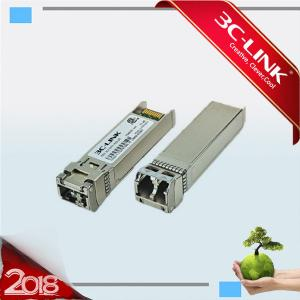 China 80km C-Band Tunable DWDM SFP + Fiber Optic Transceiver Module 50GHz ITU Grid on sale
