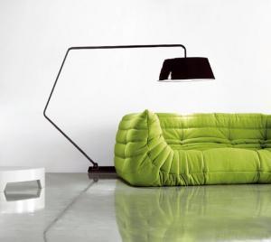 Michel Ducaroy Togo Sofa In Mircofiber Or Wool Fabric For Sale