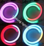 14*26mm size led digital neon flex light with low voltage 24v lights