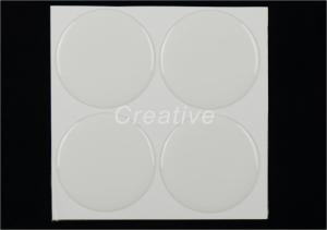 China 50mm Round Clear Epoxy Stickers For Trophies Medals 2 Inch Insert Discs​ on sale